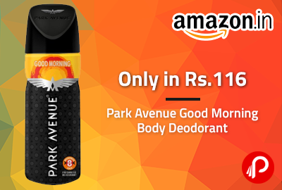 Only in Rs.116 | Park Avenue Good Morning Body Deodorant - Amazon