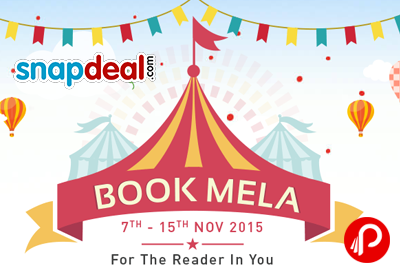 Snapdeal Book Mela Start from Nov 07-15 Nov 2015 - Snapdeal