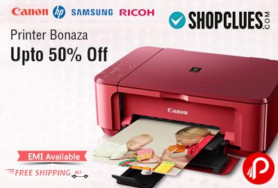 Get UPTO 50% off on Printers Bonaza - Shopclues