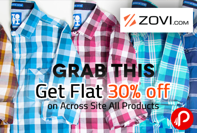 Get Flat 30% off on Across Site All Products | Diwali Special Sale - Zovi
