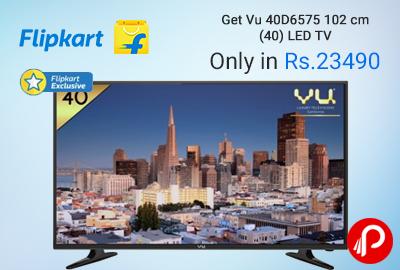 Flipkart offers Vu 40D6575 102 cm