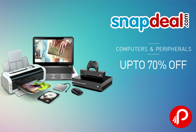 The Great Computer Sale | Upto 70% Off - Snapdeal