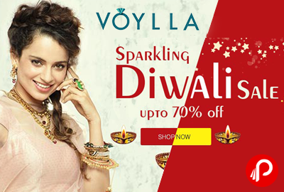Upto 70% Off on Jewellery | Sparkling Diwali Sale - Voylla