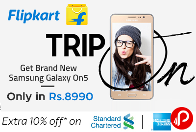 Get Brand New Samsung Galaxy On5 only in Rs.8990 - Flipkart