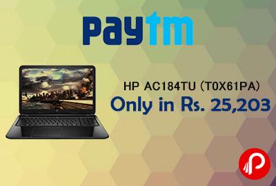 HP AC184TU (T0X61PA) (Core i3 (5th Gen)/4 GB/1 TB/39.62 cm (15.6)   Only in Rs. 25,203 - Paytm