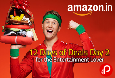 12 Days of Deals Day 2 for the Entertainment Lover - Amazon