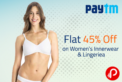 a574175eb8 Flat 45% Off on Women s Innerwear   Lingerie - Paytm