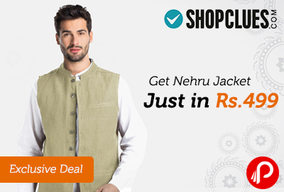 2b89e6a738648 Get Nehru Jacket Just in Rs. 499