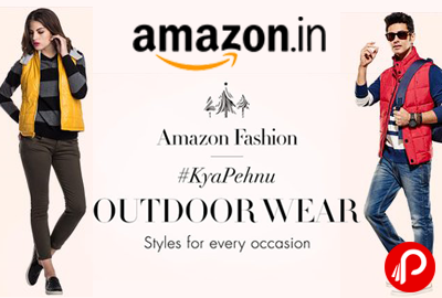 Get Outdoor Wear Amazon Fashion | #KyaPehnu - Amazon