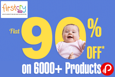 Get Flat 90% off on 6000+ Products - Firstcry