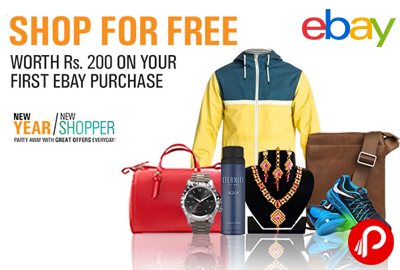 Get Rs. 200 Off on Your First Ebay Purchase | Shop For Free - Ebay