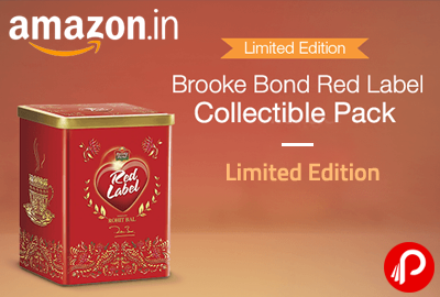 Get Brooke Bond Red Label Collectible Pack | Limited Edition - Amazon