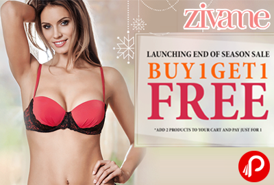 Buy 1 Get 1 Free Sale Is Back on All Lingerie - Zivame