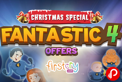 Get Fantastic 4 Offers on Products | Christmas Special - Firstcry