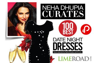 Get Neha Dhupia Best 100 Date Night Dresses | Neha Dhupia Curates - Limeroad