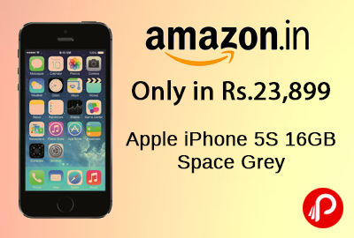 Get Apple iPhone 5S 16GB Space Grey Only in Rs.23,899 - Amazon