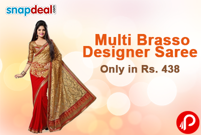 fe0efa6e239 Snapdeal offers Designer Saree - Best Online Shopping deals
