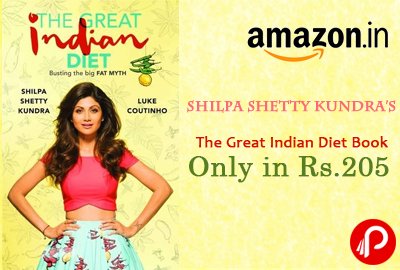 Shilpa Shetty Kundra's The Great Indian Diet Book Only in Rs.205 - Amazon