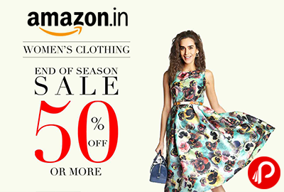 Women's Clothing UPTO 50% off | End of Season Sale - Amazon
