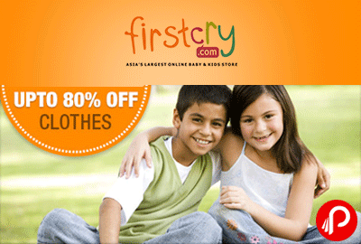 Get UPTO 80% off on Tops & Tees Clothes - Firstcry