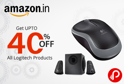 Get UPTO 40% off all Logitech Products | Deal of the Day - Amazon