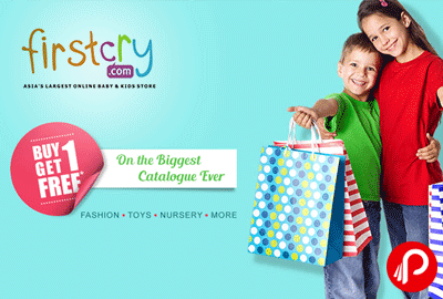 Buy 1 Get 1 on Fashion, Toys, Nursery & more - Firstcry