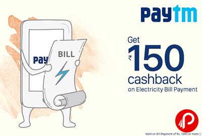 Get Rs.150 Cashback