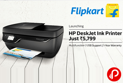 Get HP Deskjet Ink Printer Just 5799   Just Launched - Flipkart