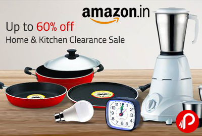 Get UPTO 60% off on Home & Kitchen Clearance Sale - Amazon