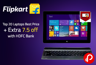 Top 20 Laptops Best Price + Extra 7.5 off with HDFC Bank | Republic Day Sale - Flipkart