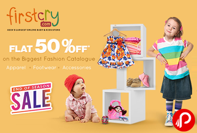 Flat 50% off on the Biggest Fashion Catalogue | EOSS - Firstcry