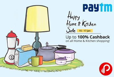 Happy Home & Kitchen Sale