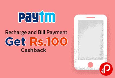 Get Rs.100 Cashback