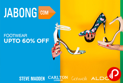 Footwear UPTO 60% off - Jabong