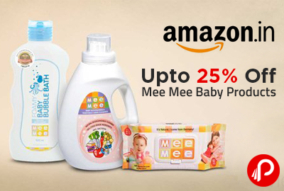 Mee Mee Baby Products Upto 25% off - Amazon