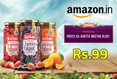 Buy Kissan Berry Blast Jam @ Rs.99 - Amazon