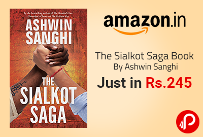 The Sialkot Saga Book By Ashwin Sanghi Just in Rs. 245 | New York Times BestSeller - Amazon