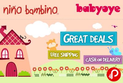 Upto 20 % off on Nino Bambino Organic Baby Clothes - BabyOye
