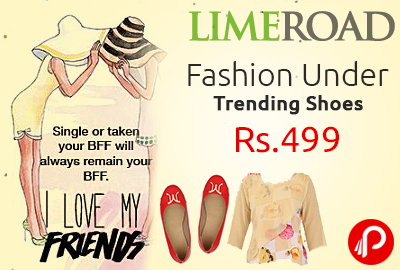 Fashion Under Rs.499 | Trending Shoes - Limeroad