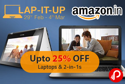 Laptops & 2-in-1s 25% off | LAP-IT-UP - Amazon