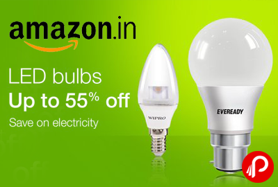 LED Bulbs Upto 55% off - Amazon