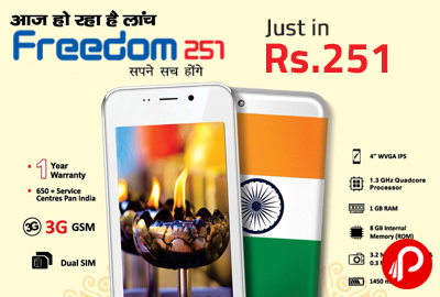 freedom 251 mobile price - Best Online Shopping deals a12e1b57457d