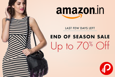 Amazon Fashion Upto 70% off | End Of Season Sale - Amazon