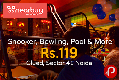 Snooker, Bowling, Pool & More at Rs.119 Glued, Sector 41 Noida - Nearbuy