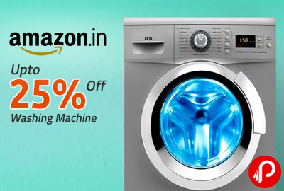Washing Machine Upto 25% off - Amazon