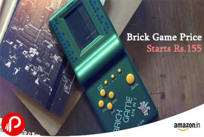 Brick Game Price Starts Rs.155 | 90's Kids Game - Amazon