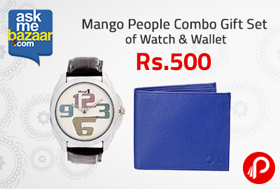 Gift Set of Watch & Wallet