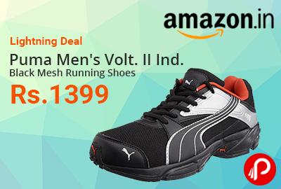 2287640d520 Puma Men s Volt. II Ind. Black Mesh Running Shoes   Rs.1399 ...