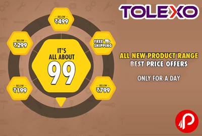 Best Price Corner Any Product @ Rs.99 - Tolexo