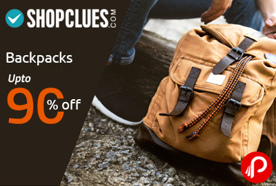 Backpacks Upto 90% off - Shopclues